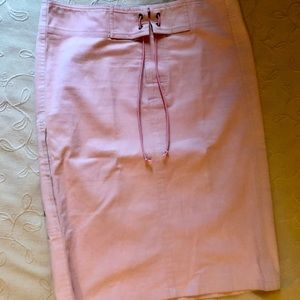 Gucci Pink Cargo Lace Tie Skirt